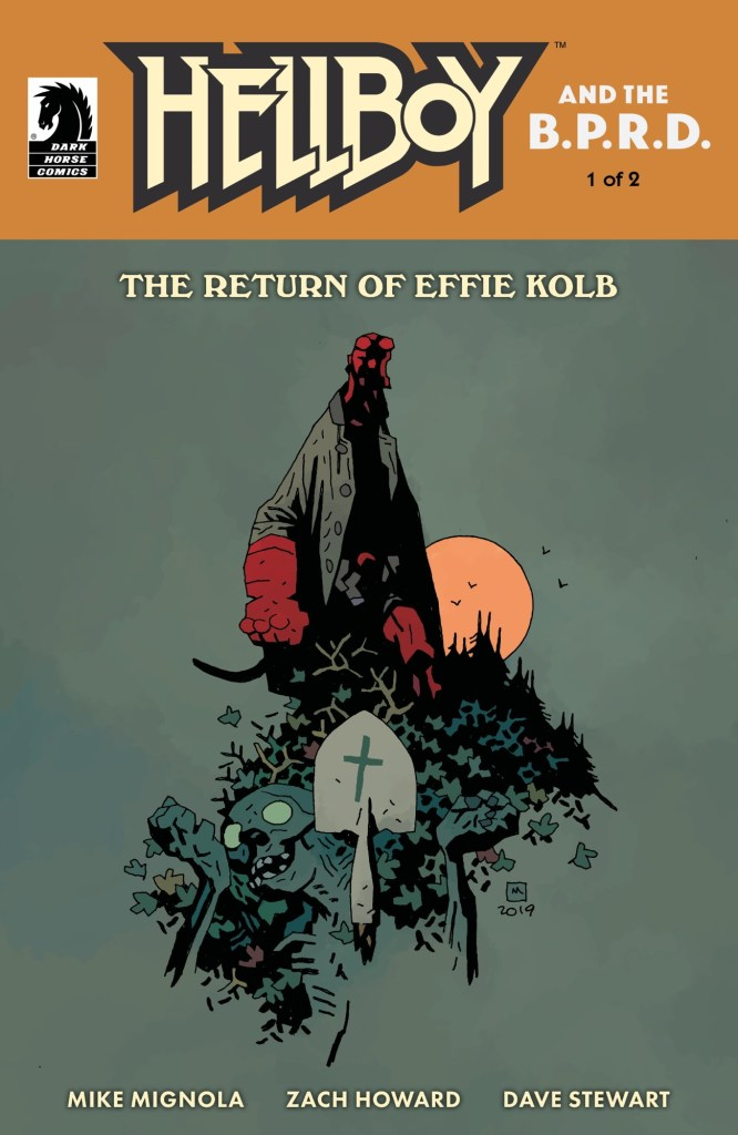 Hellboy & The B.P.R.D.: The Return of Effie Kolb variant cover