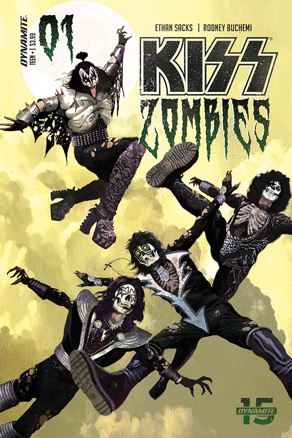 KISS/Zombies #1