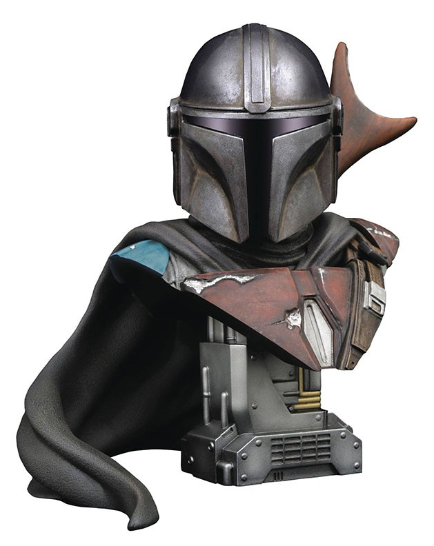 Legends in 3D Movie Star Wars The Mandalorian ½ Scale Bust
