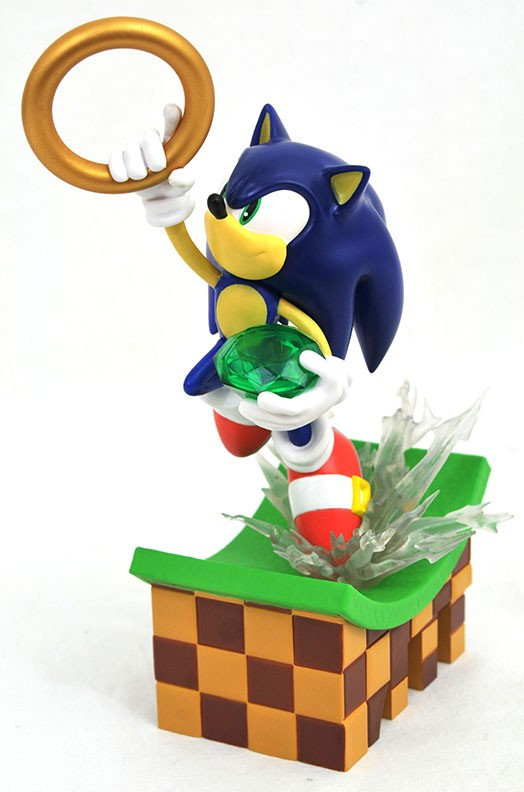 Sonic the Hedgehog Gallery Sonic PVC Diorama