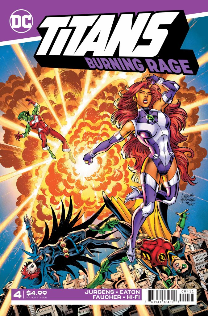 Titans: Burning Rage #4 (of 7)