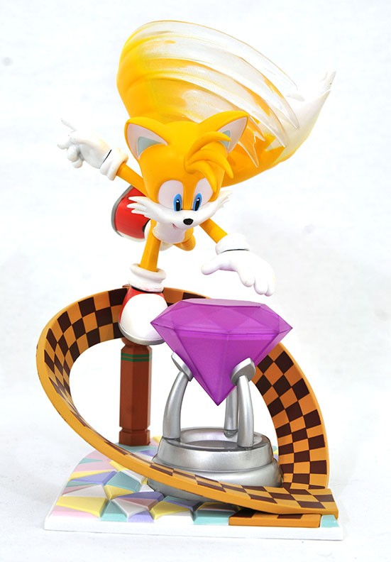 Sonic the Hedgehog Gallery Tails PVC Diorama