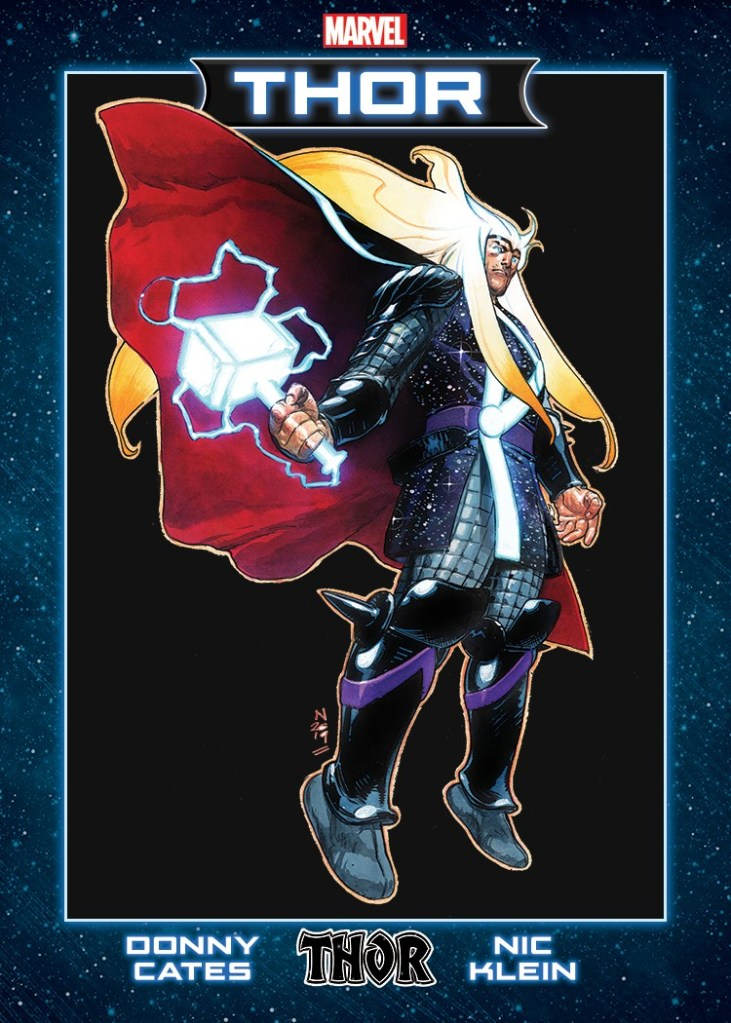Thor Launch Party Trading Cards
