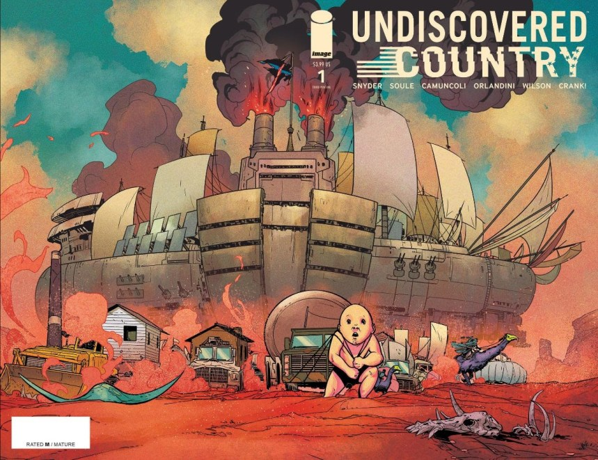 Undiscovered Country #1 third printing