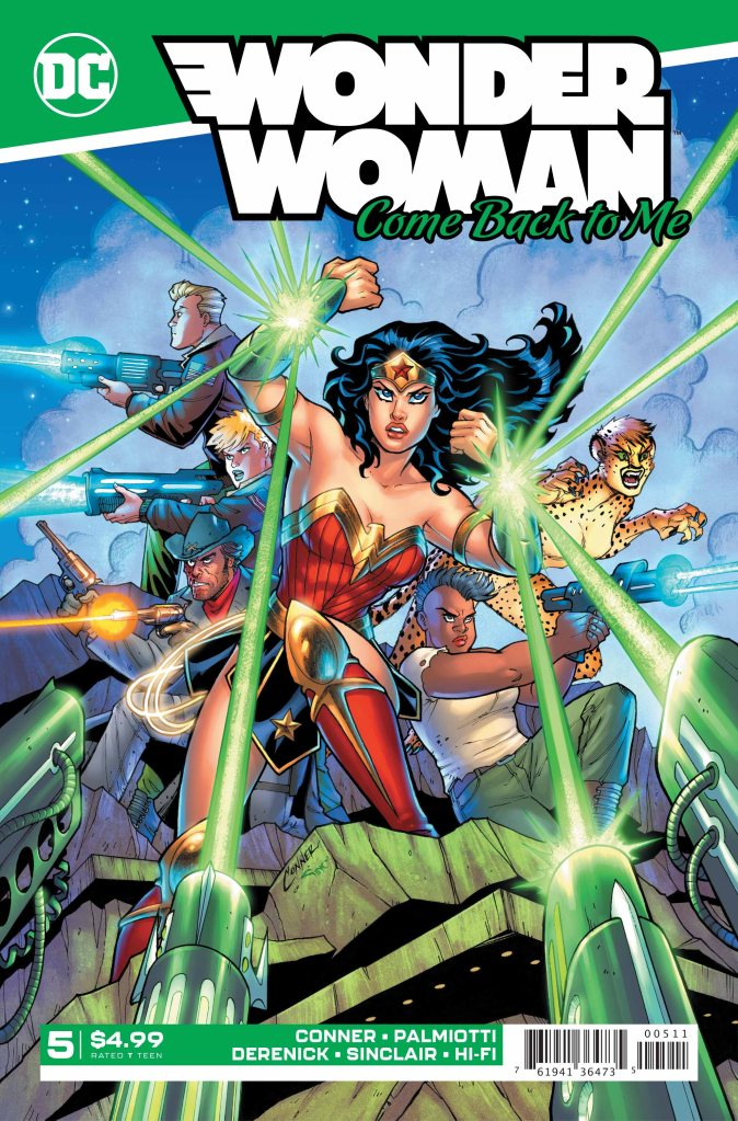 Wonder Woman: Come Back to Me #5 (of 6)