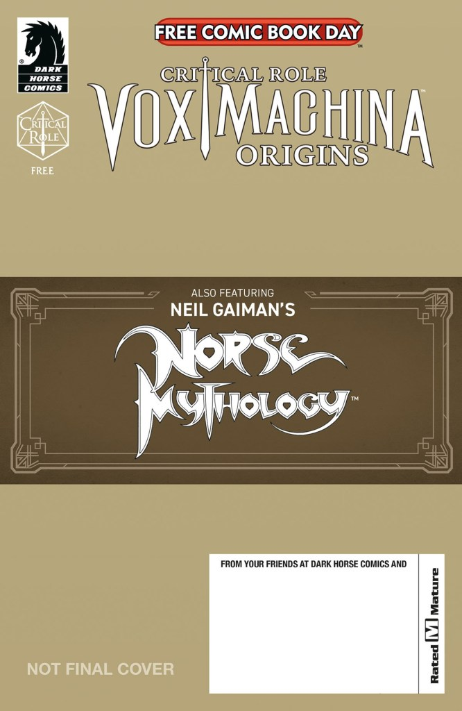 NORSE MYTHOLOGY/ CRITICAL ROLE