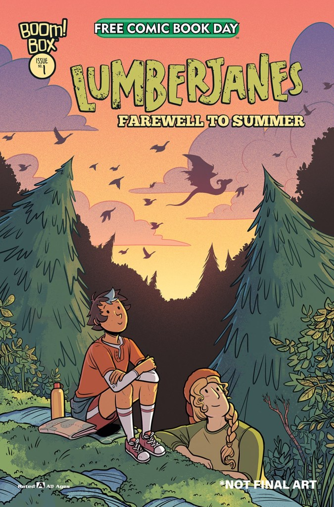 LUMBERJANES: FAREWELL TO SUMMER
