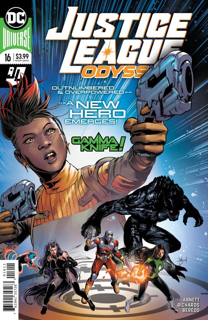 Justice League Odyssey #16