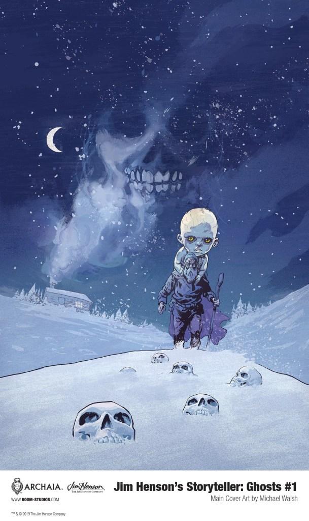 Jim Henson's The Storyteller: Ghosts #1 Main Cover