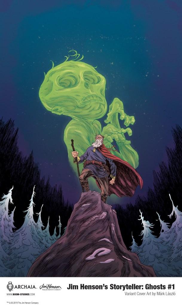 Jim Henson's The Storyteller: Ghosts #1 Variant cover