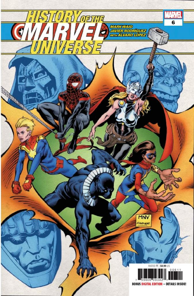 History of the Marvel Universe #6 (of 6)