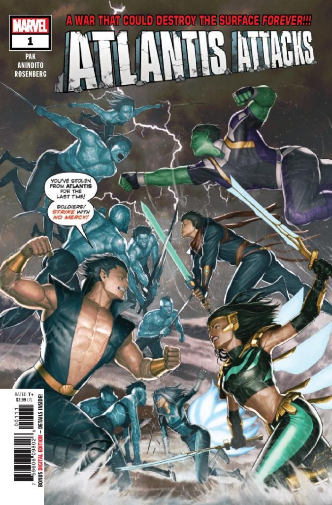 Atlantis Attacks #1 (of 5)