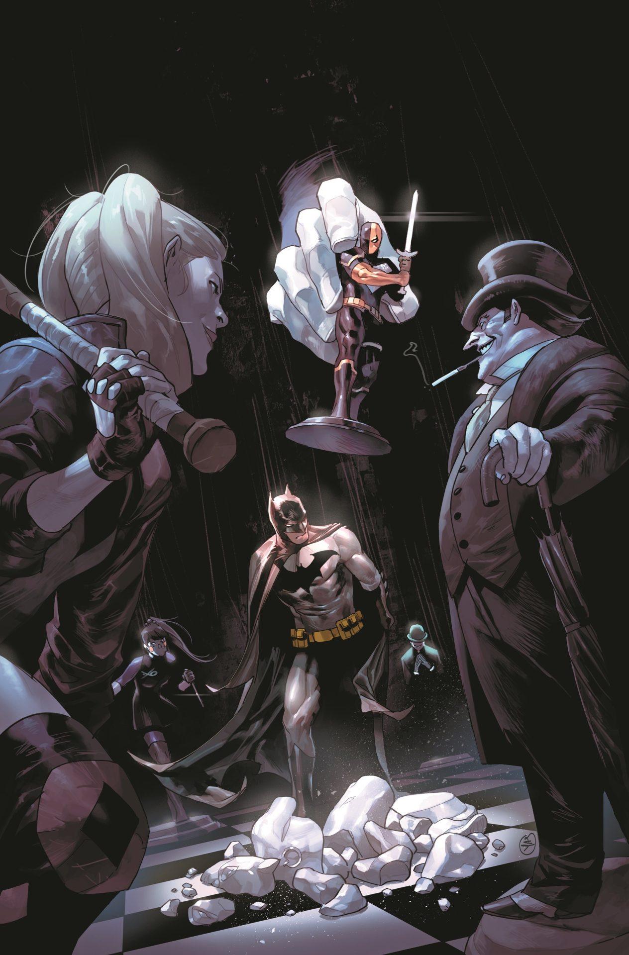 DC Reveals More Bat Action in April 2020