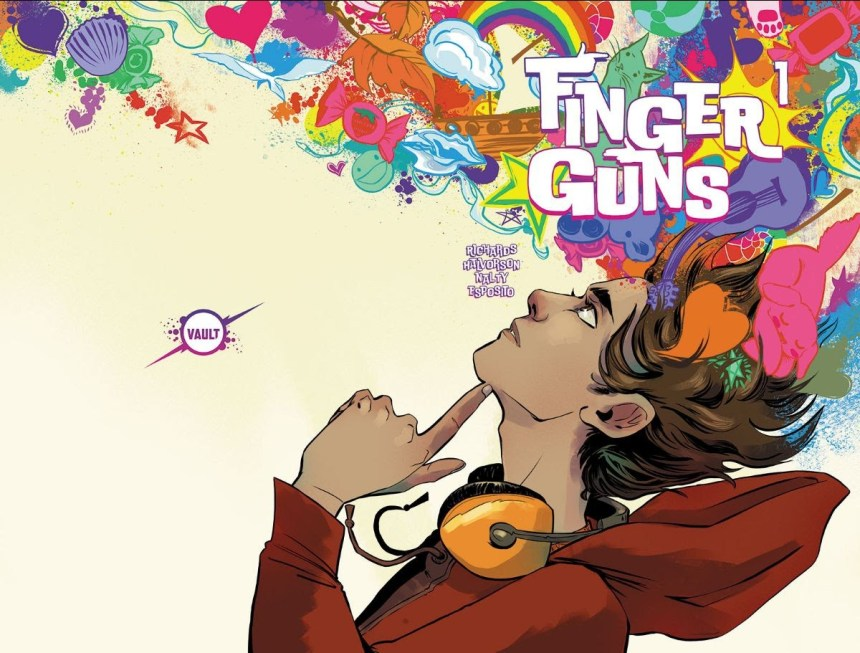 Finger Guns #1 Jen Hickman variant