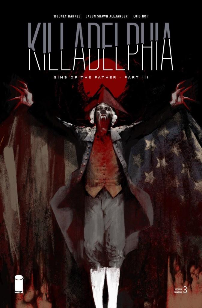 Killadelphia #3, second printing