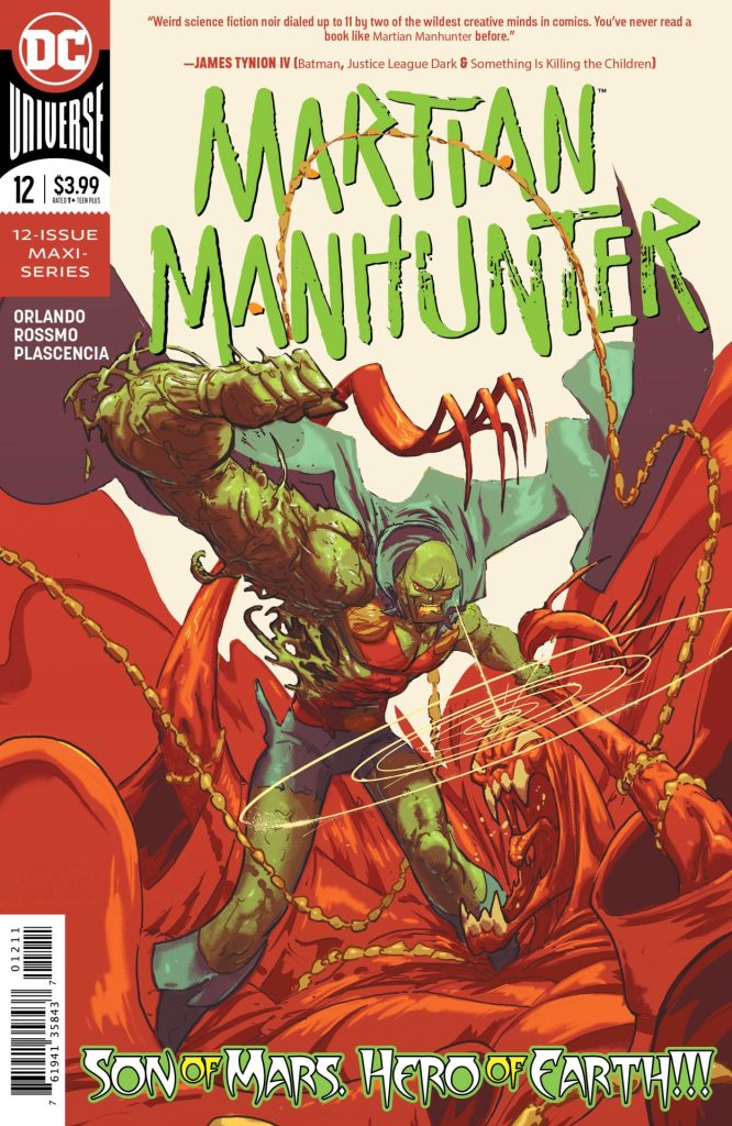 Martian Manhunter #12 (of 12)
