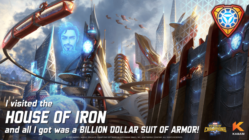 Marvel Realm of Champions House of Iron