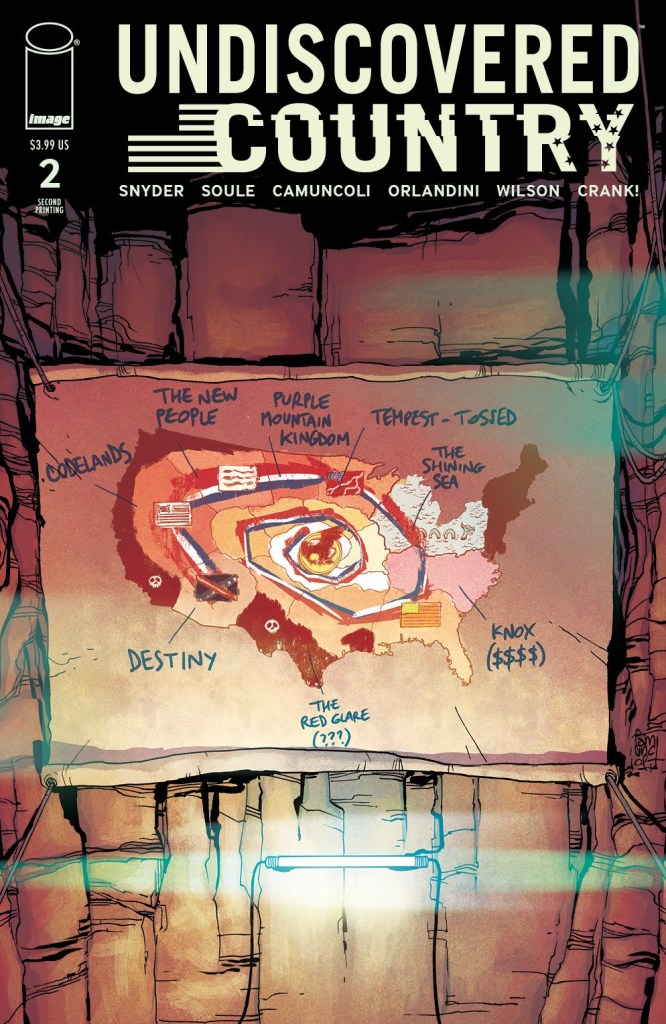 Undiscovered Country #2, second printing