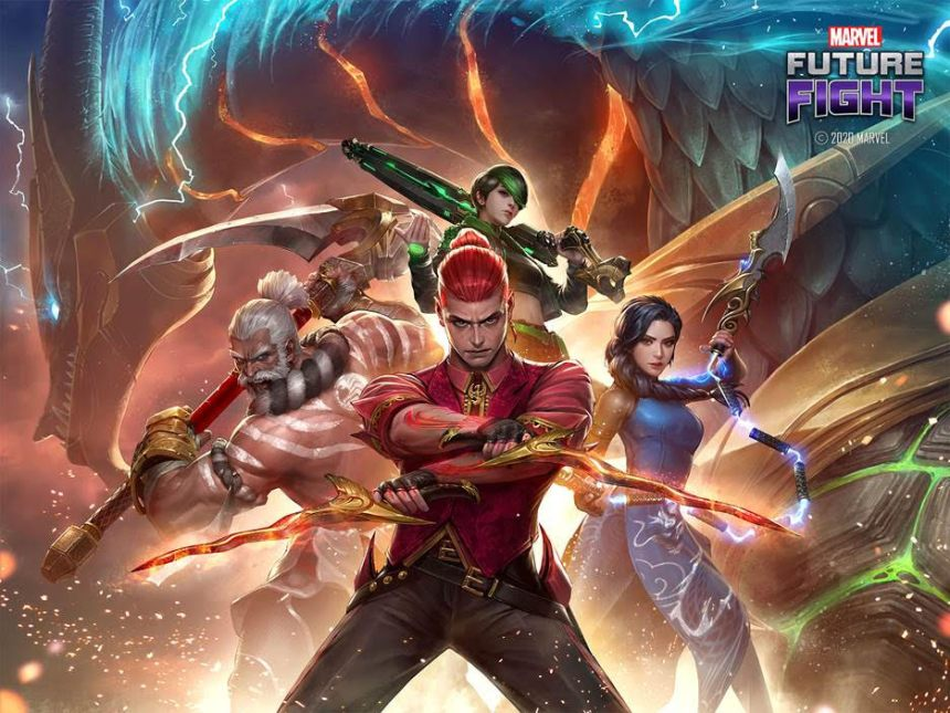Marvel Future Fight Warriors of the Sky
