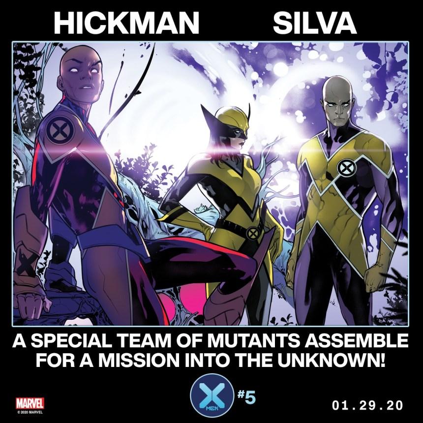 X-Men #5 teaser