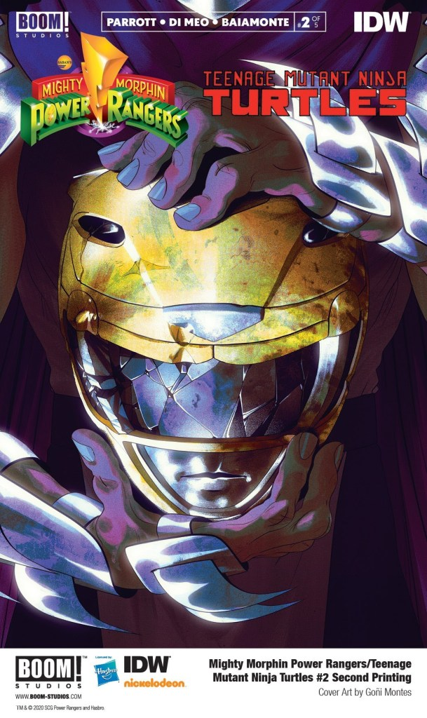 Mighty Morphin Power Rangers/Teenage Mutant Ninja Turtles #2