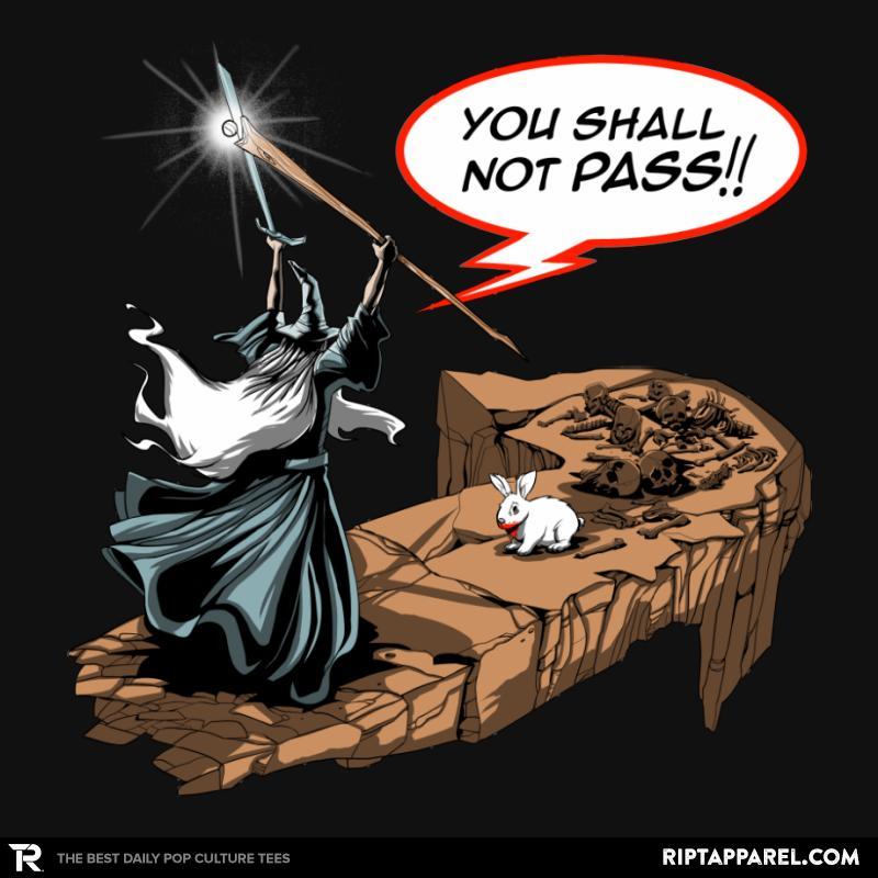 You Shall Not Pass Rabbit