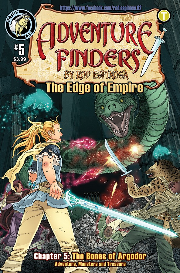ADVENTURE FINDERS: THE EDGE OF EMPIRE #5