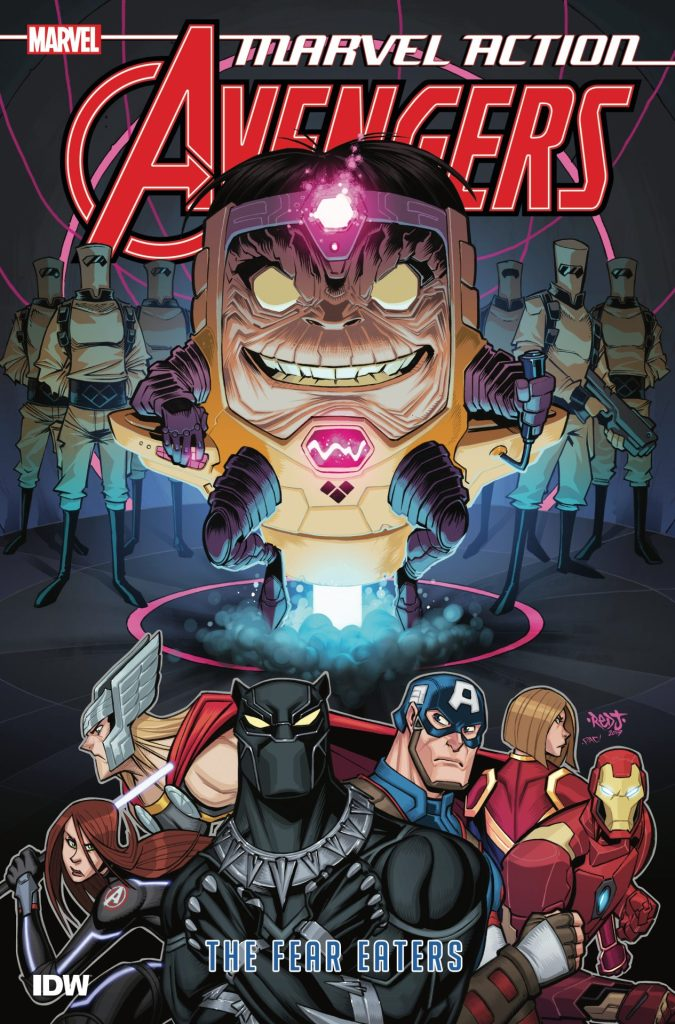 Marvel Action: Avengers Book 3 The Fear Eaters