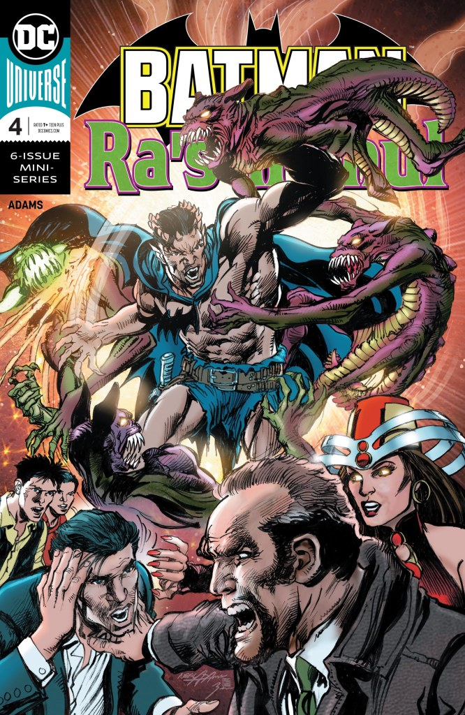 Batman vs. Ra's Al Ghul #4 (of 6)