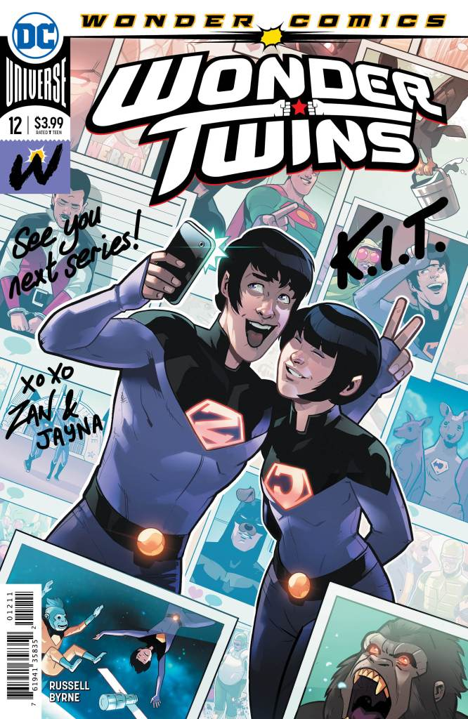 Wonder Twins #12 (of 12)