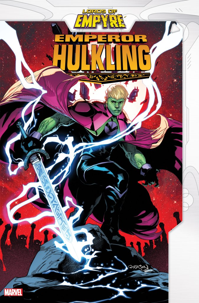 Lords of Empyre: Emperor Hulkling
