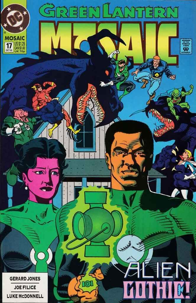 Green Lantern Mosaic #17