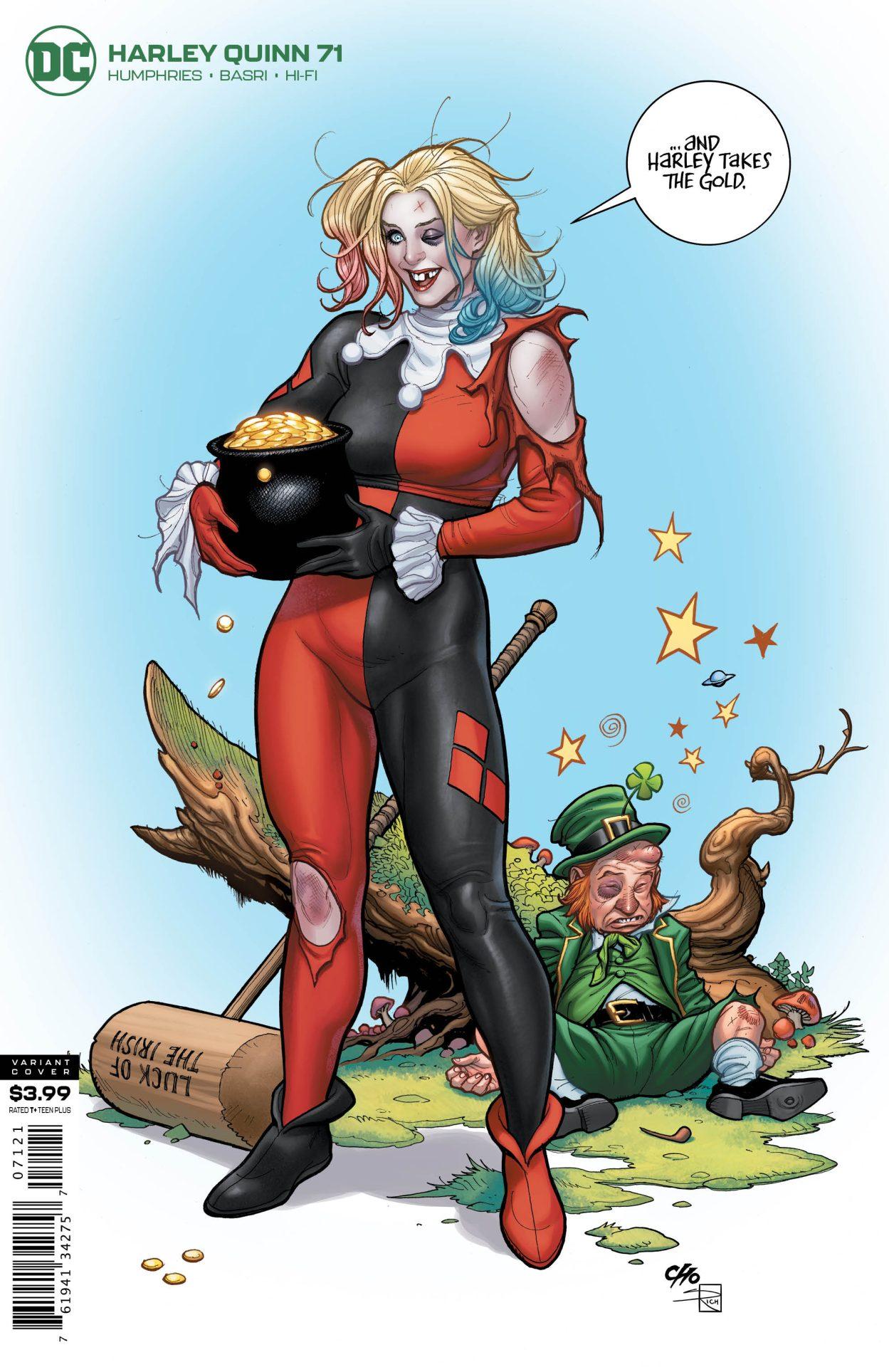 Harley Quinn #60 DC Comics COVER A 1ST PRINT