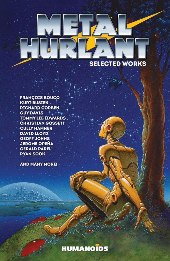 A Re-issue of METAL HURLANT: SELECTED WORKS