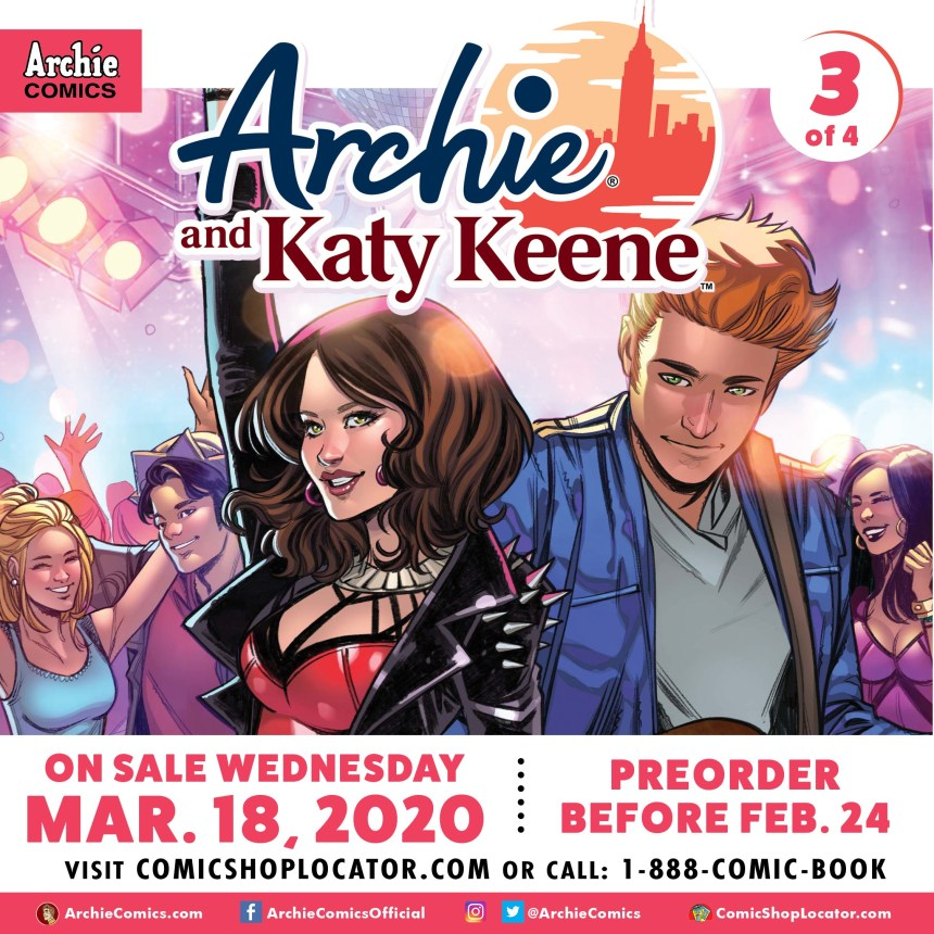 ARCHIE #712 (ARCHIE AND KATY KEENE PART 3)