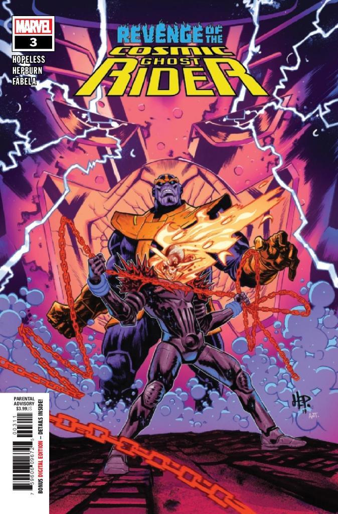 Revenge of the Cosmic Ghost Rider #3 (of 5)