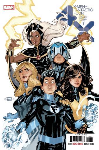 X-Men/Fantastic Four #1