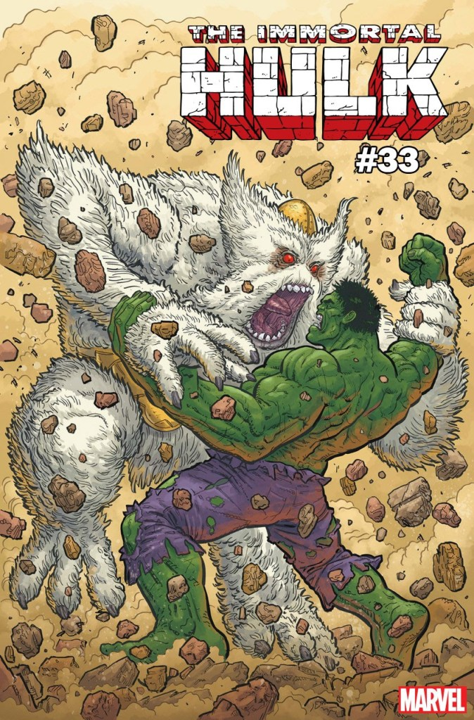 Immortal Hulk #33 Steve Skroce cover
