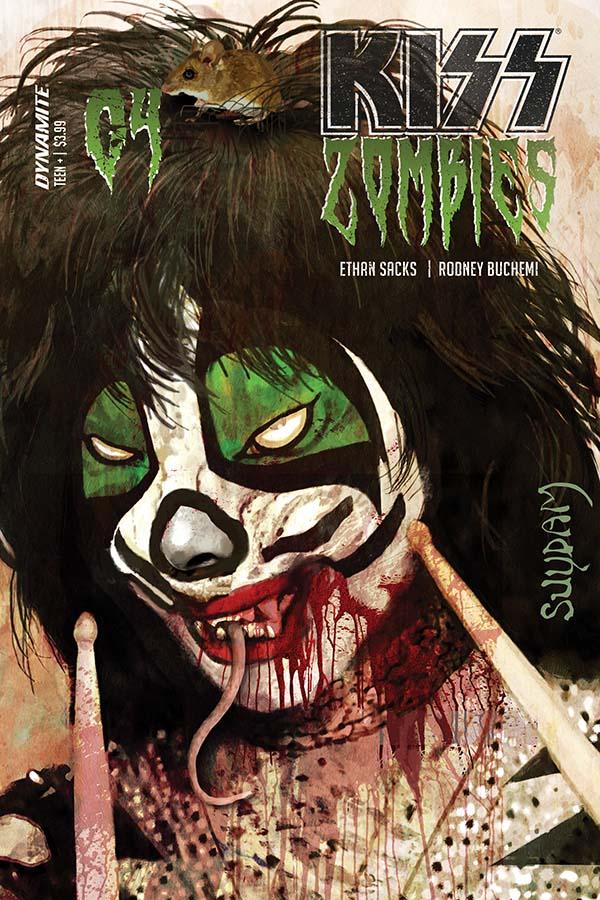 KISS/Zombies #4