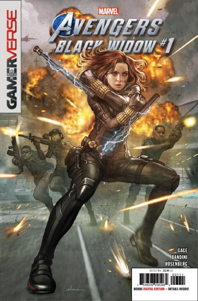 Marvel's Avengers: Blck Widow #1