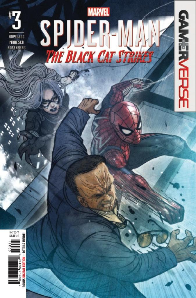 Marvel's Spider-Man: The Black Cat Strikes #3 (of 5)