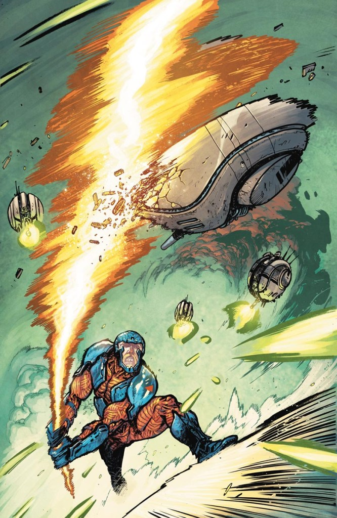 X-O MANOWAR #2 1:25 Cover by Daniel Warren Johnson