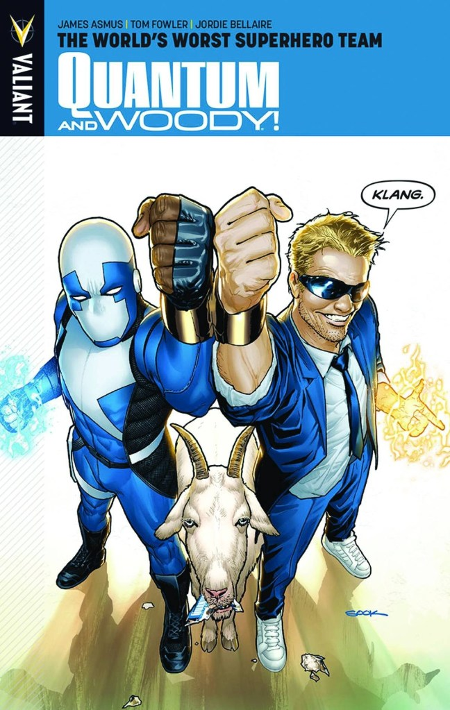 Quantum And Woody: The World's Worst Superhero Team