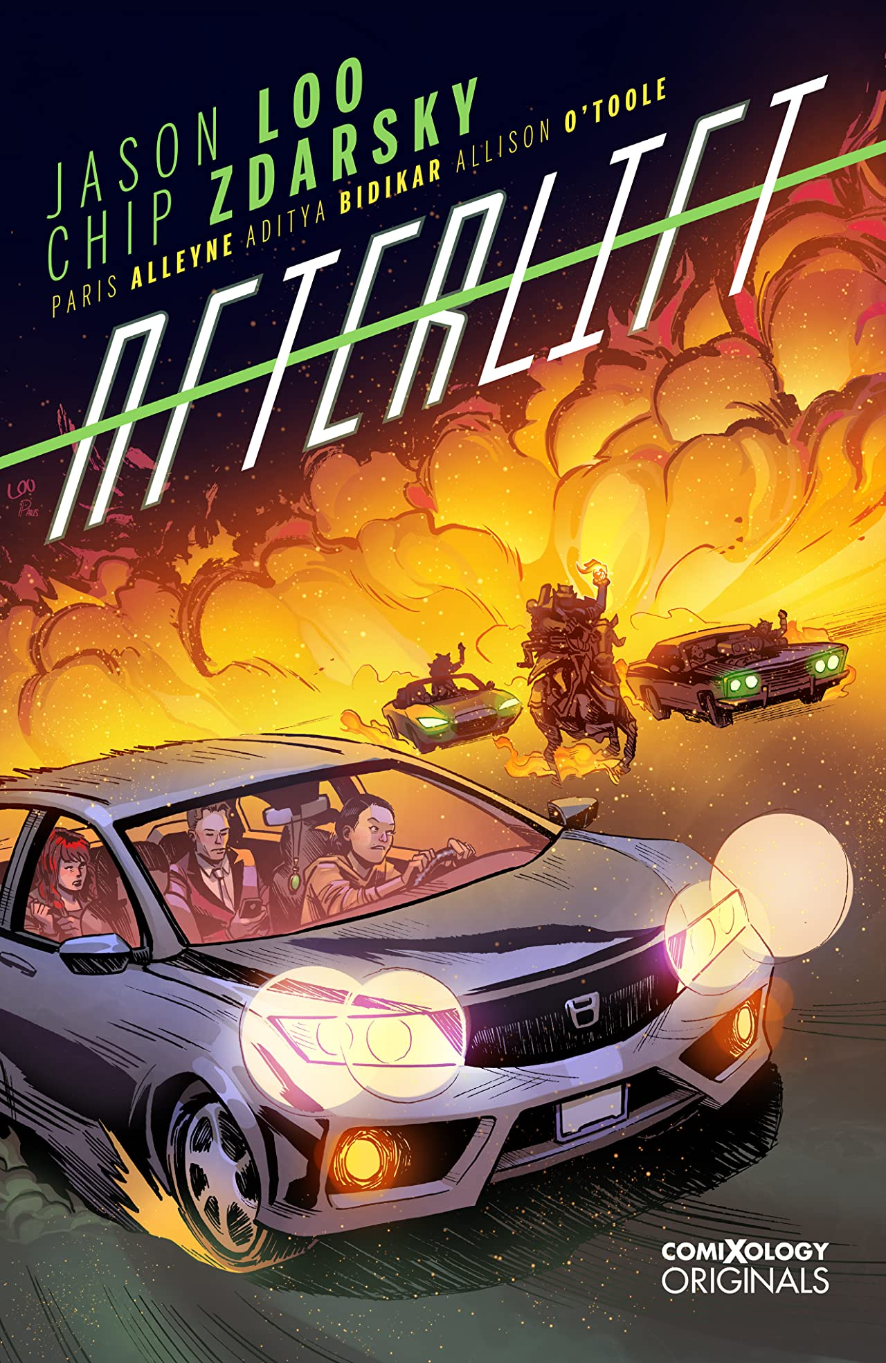 Get Chip Zdarsky and Jason Loo's Afterlift for FREE! | Graphic Policy