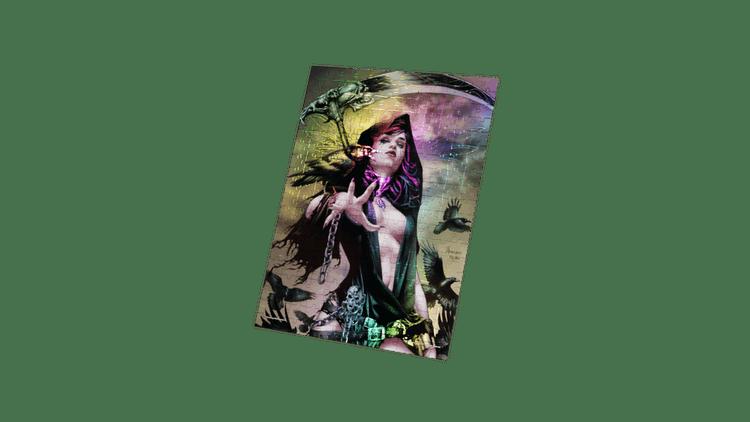 Grimm Tales of Terror- Keres- Art by Jay Anacleto