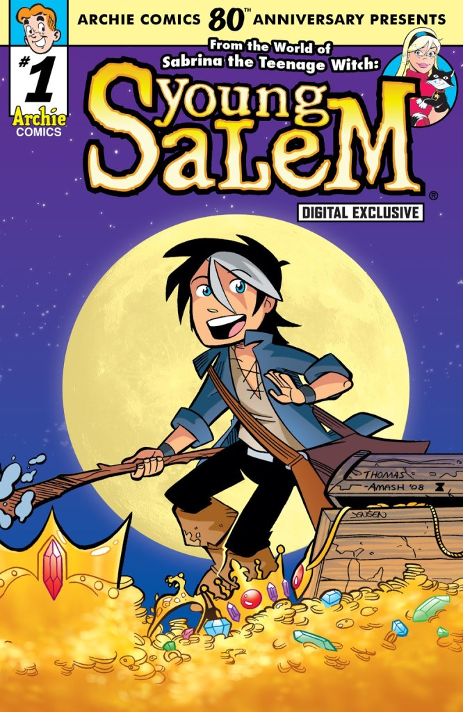 Archie Comics 80th Anniversary Presents Young Salem