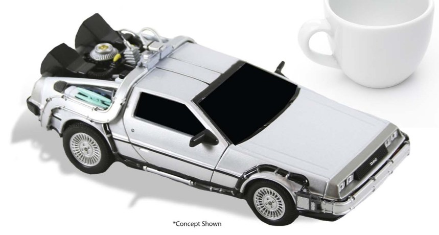 "Back to the Future - 6"" Diecast - Time Machine"