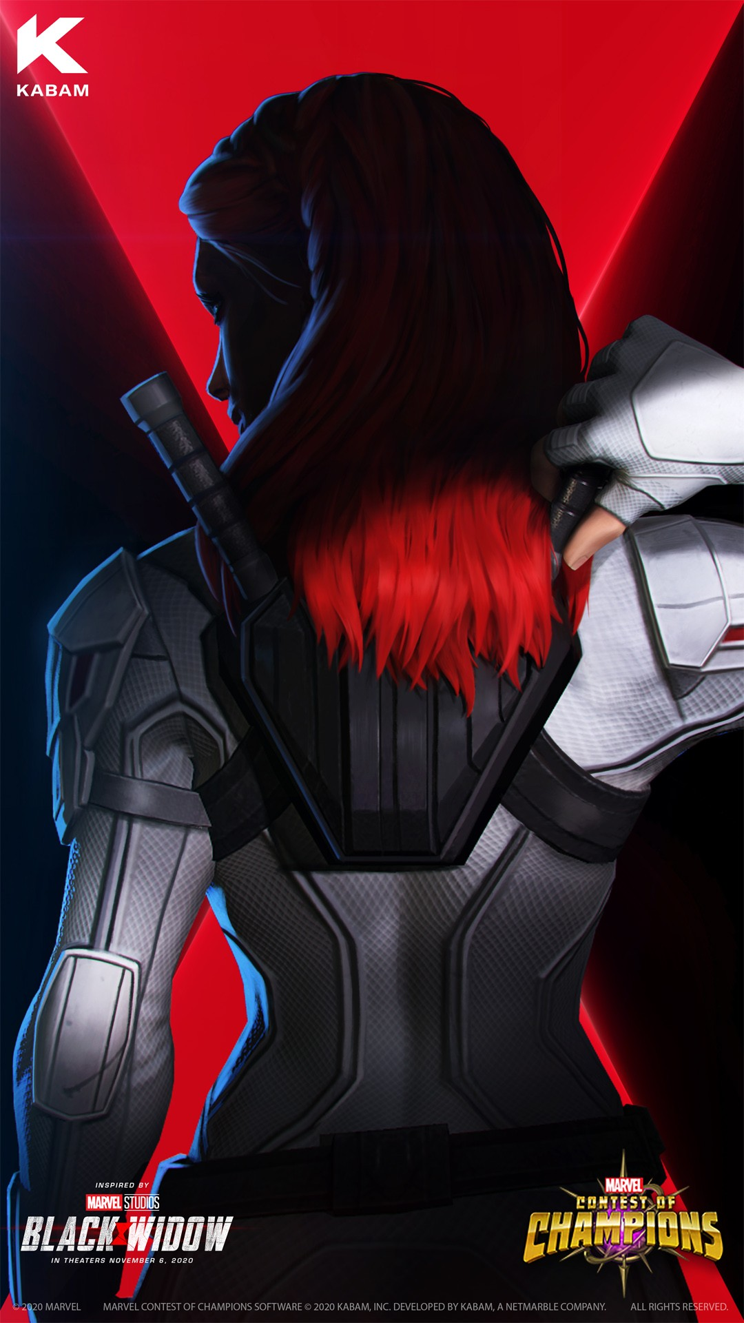 Black Widow Joins The Contest Marvel Contest Of Champions Graphic Policy