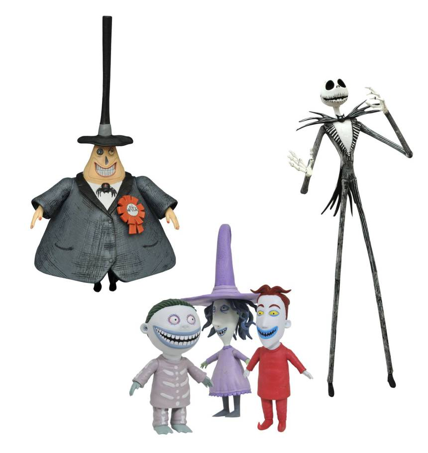 Nightmare Before Christmas Best Of Series 1 Action Figures Asst.
