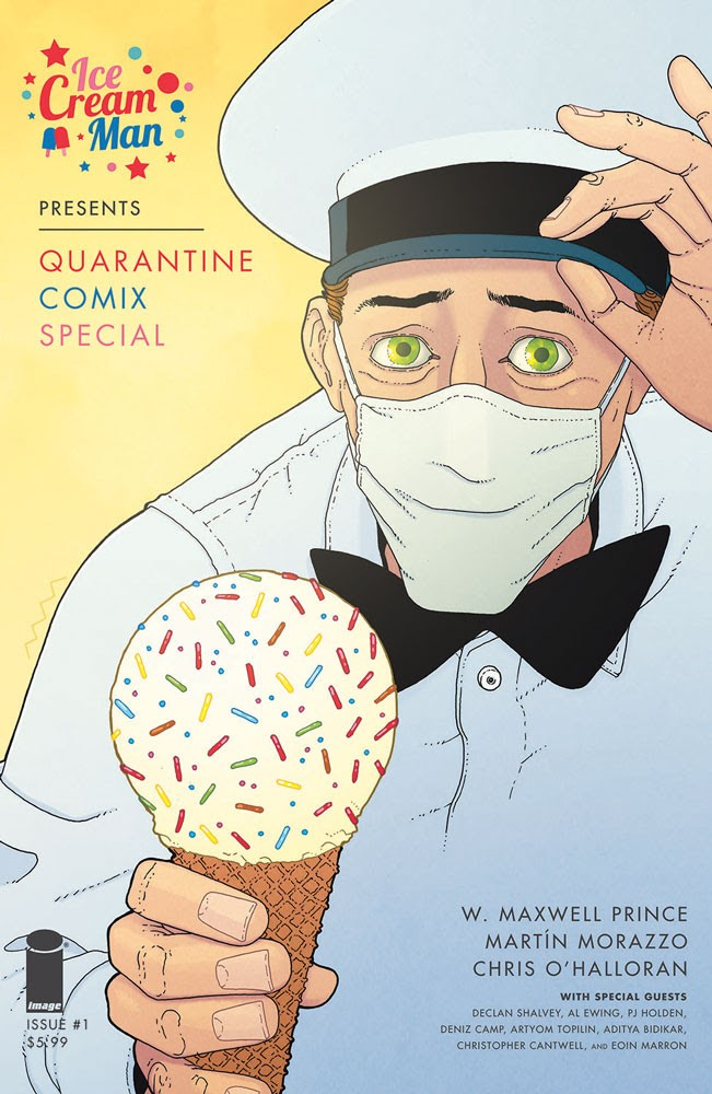 Ice Cream Man Presents: Quarantine Comix #1